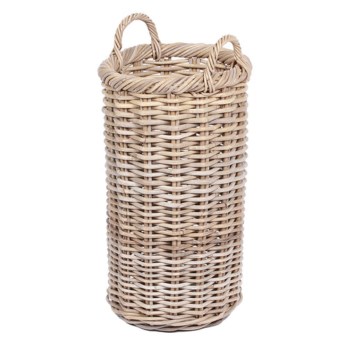 Wicker Round Tapered Basket with Ear Handles