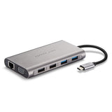 PepperJobs 11 in 1 USB-C Hub w/VGA, 3.5mm, LAN