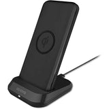 Odoyo Wireless Charging Dock + 10000mAh Portable Battery Pack (Black)