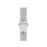Apple Watch S5 GPS Nike Silver Aluminum w/ Nike Sport Band (Pure Platinum / Black)