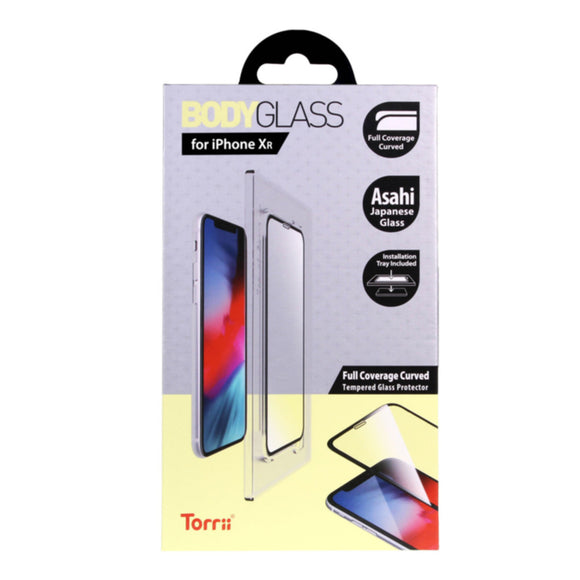 Torrii BODYGLASS for iPhone 11 & XR (Clear)