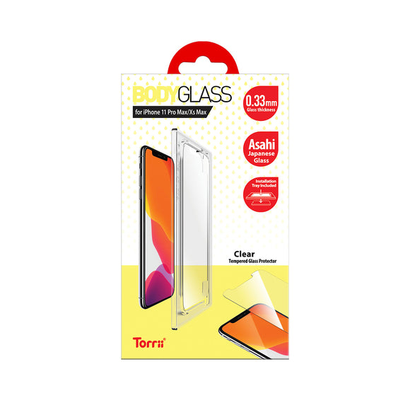 Torrii BODYGLASS for iPhone 11 Pro Max (Clear)