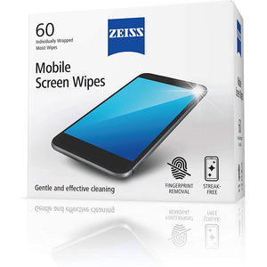 ZEISS Mobile Screen Wipes (60 pcs)