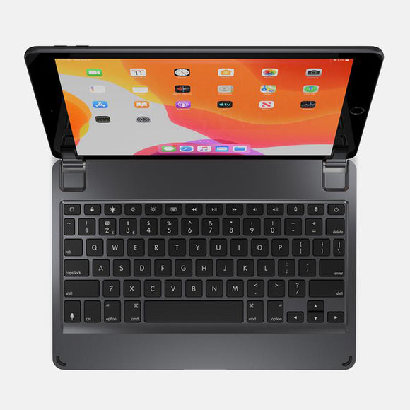 Brydge 10.2 Bluetooth Wireless Keyboard for iPad 7gen (Space Grey)