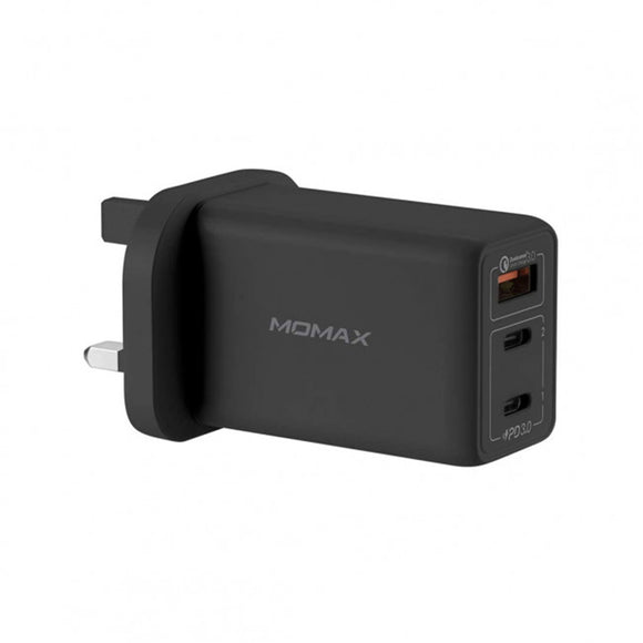 Momax UM20 One Plug 65W 3-Port GaN Charger