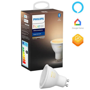 Philips Hue White Ambiance Single Bulb 5W (GU10)