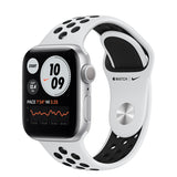 Apple Watch S6 GPS Nike Silver Aluminium w/ Sport Band (Pure Platinum / Black)