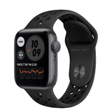 Apple Watch SE GPS Nike Space Gray Aluminium w/ Sport Band (Anthracite / Black )