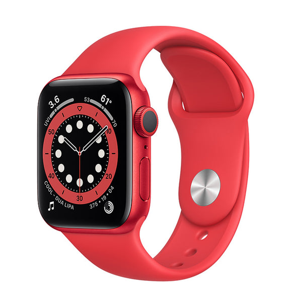 Apple Watch S6 GPS PRODUCT(RED) Aluminum w/ Sport Band (PRODUCT - RED)