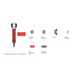 Dyson Supersonic Hair Dryer HD03 w/ Gift Box (Chinese Edition - Red / Red)