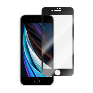 Movfazz RobusTech for iPhone SE Full Cover Glass Protector (Black)