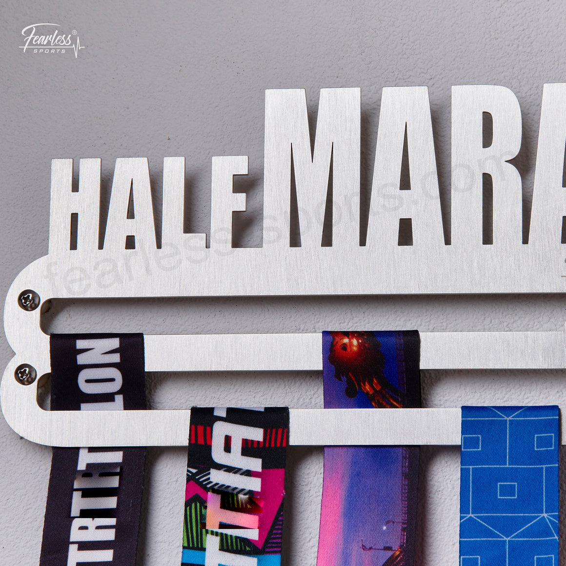 Half Marathon Stainless Steel Sport Medal Display Hanger Medal Organizer ITM./ART.5176 - Fearless Sports