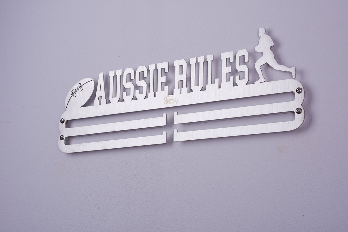 Aussie Rules Stainless Steel Medal Display Hanger ITM./ART.5196 - Fearless Sports
