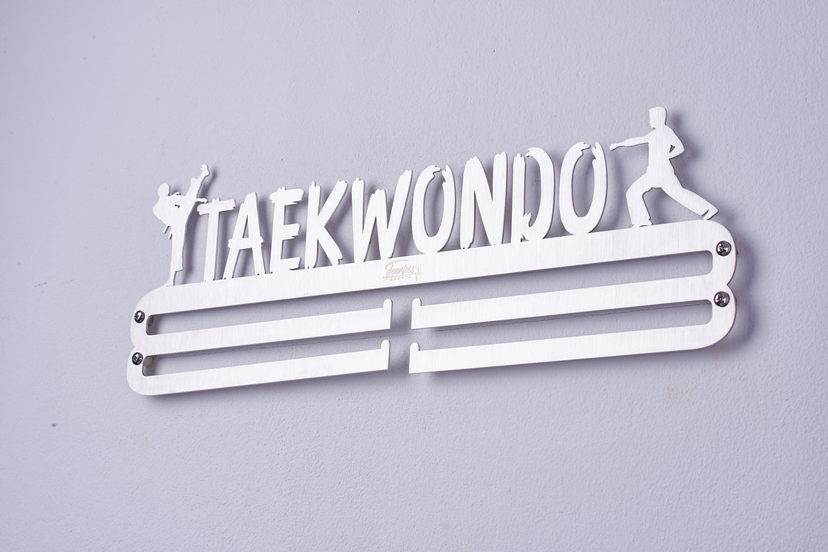Taekwondo Stainless Steel Medal Display Hanger ITM./ART.5226 - Fearless Sports