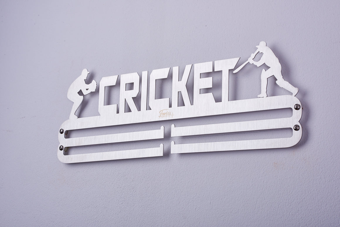 Fearless Sports Cricket Medal Hanger Medal Display Medal Holder  ITM/ART.5234 - Fearless Sports