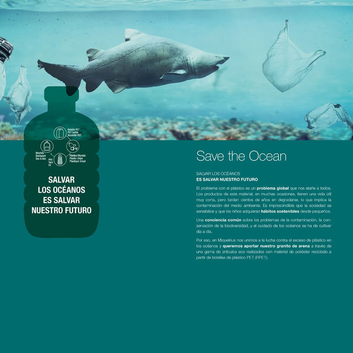 Miquelrius Lunch Box Save the Ocean