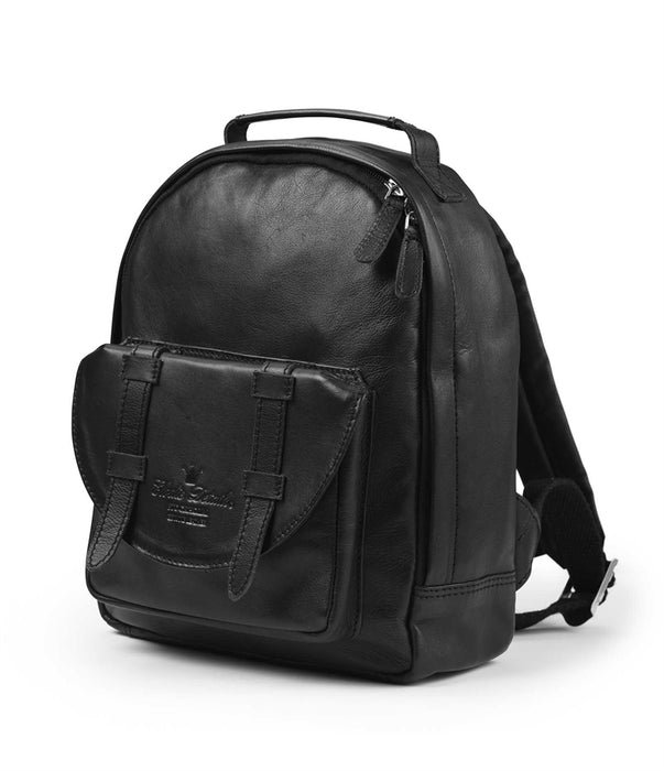 Elodie Details Back Pack Mini Black Leather