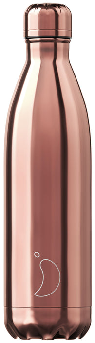 Chillys Θερμός Νερού Chrome Rose Gold 750ml - Special Edition