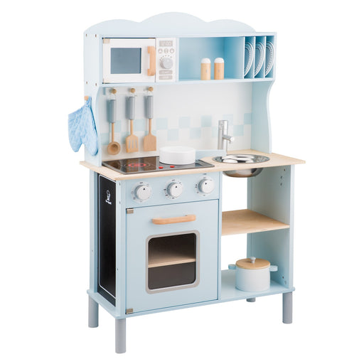 New Classic Toys Ξύλινη Κουζίνα Electric Cooking Blue