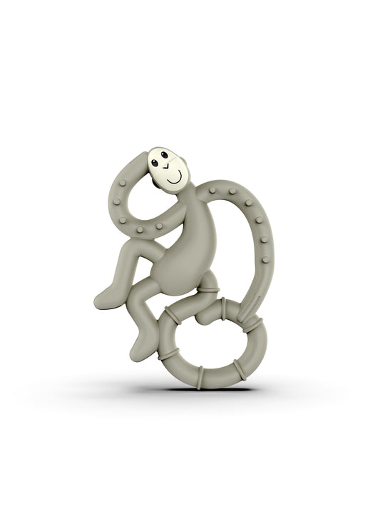 Matchstick Monkey Mini Teether Μασητικό Grey