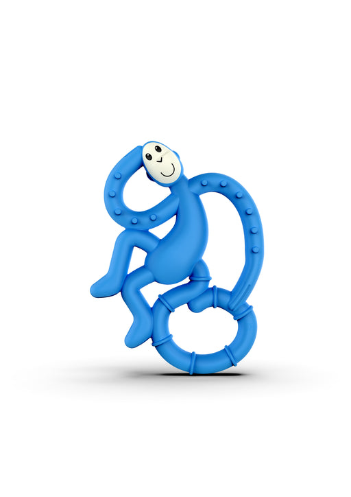 Matchstick Monkey Mini Teether Μασητικό Blue