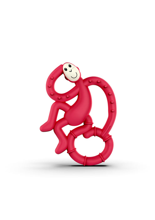 Matchstick Monkey Mini Teether Μασητικό Red