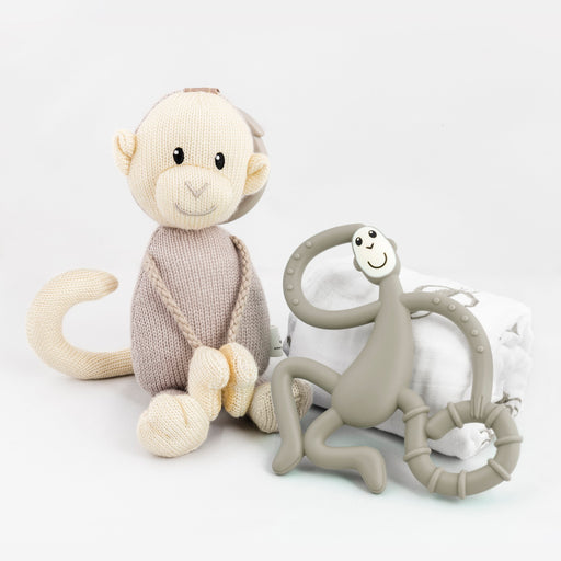 Matchstick Monkey Gift Box Set - Grey