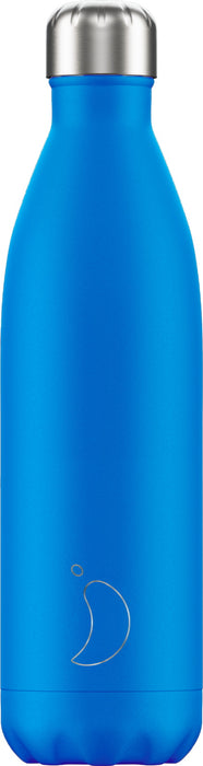 Chillys Θερμός Νερού Neon Blue 750ml