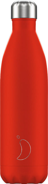 Chillys Θερμός Νερού Neon Red 750ml