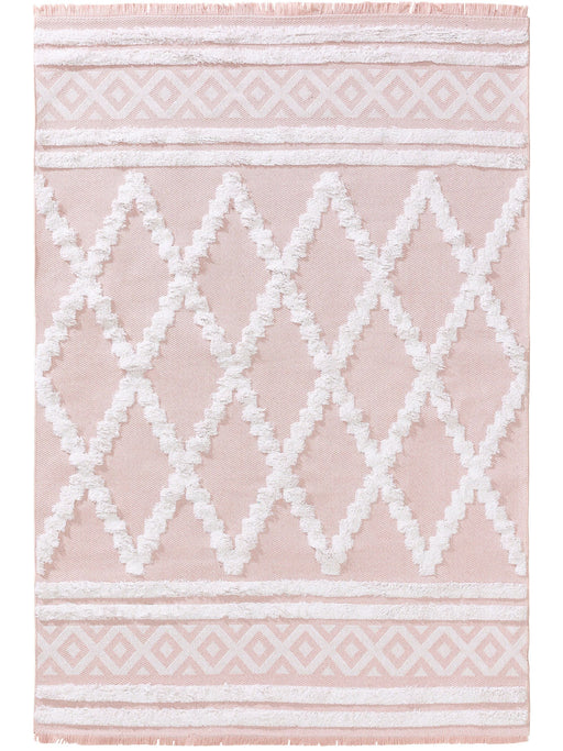 Cotton Rug Oslo Rose Shapes