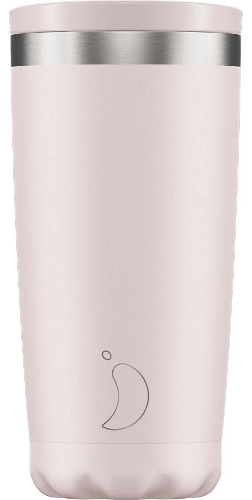 Chillys Coffee Cup 500ml Blush Pink