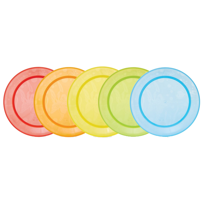 Munchkin Multi-Coloured Feeding Plates