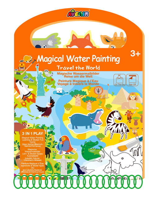 Avenir Magical Water Painting- Travel The World