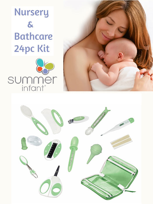 Summer Infant Deluxe Nursery & Bath Kit