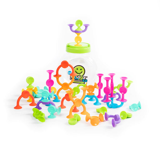 Fat Brain Toys - Squigz 2.0 36pcs
