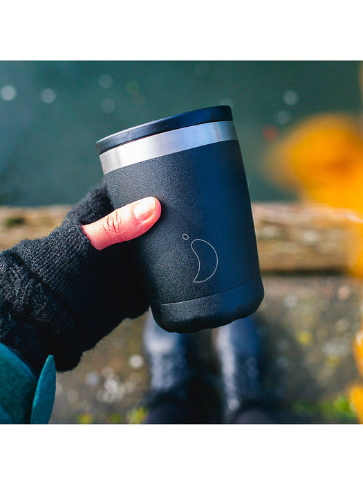 Chillys Coffee Cup 340ml Black