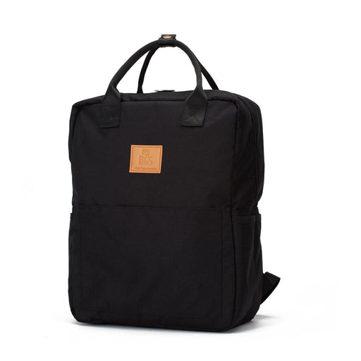 My Bag's Backpack Τσάντα Αλλαξιέρα Master Eco Black
