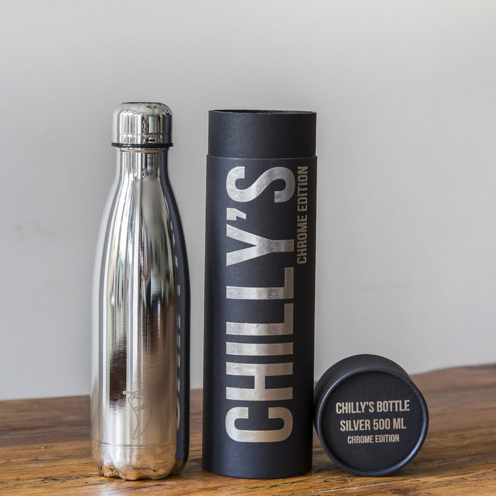 Chillys Θερμός Νερού Chrome Silver 500ml - Special Edition