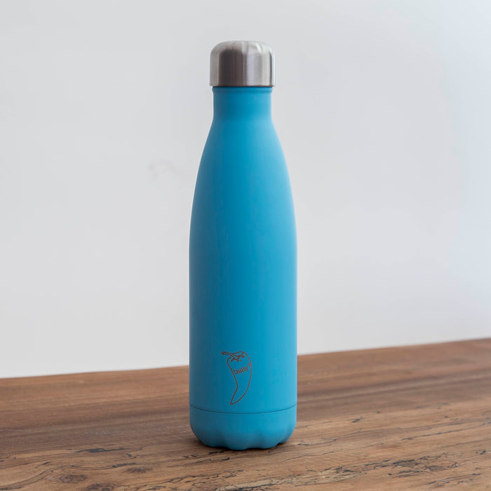 Chillys Θερμός Νερού Pastel Blue 500ml