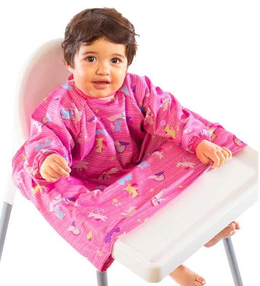 BIBaDO Coverall Highchair Bib Magical Unicorns