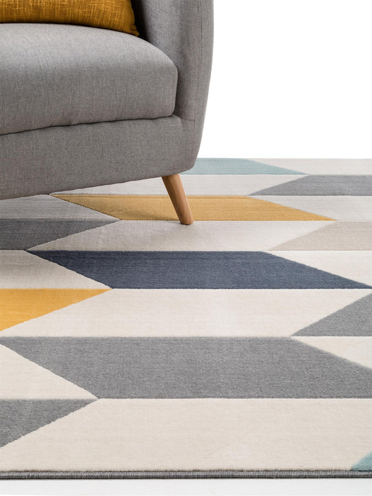 Dessert Chevron Rug Multicolour