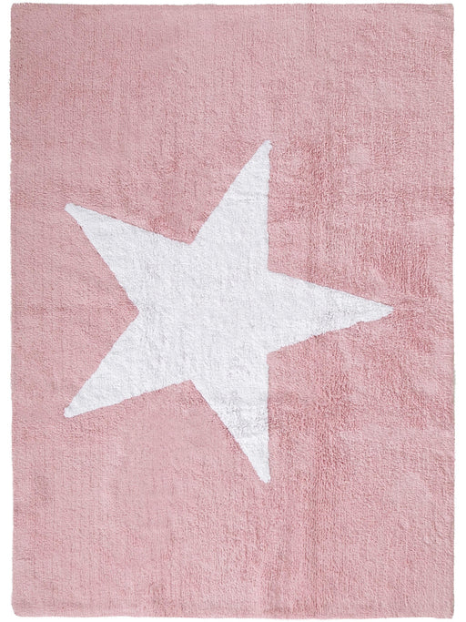 Bambini Star Kid's Rug Rose