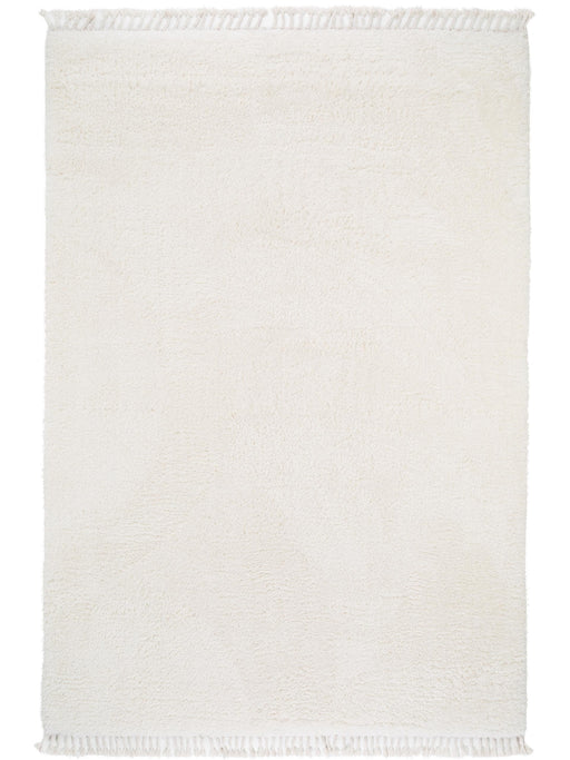 Ava Shaggy Essentials Rug Cream