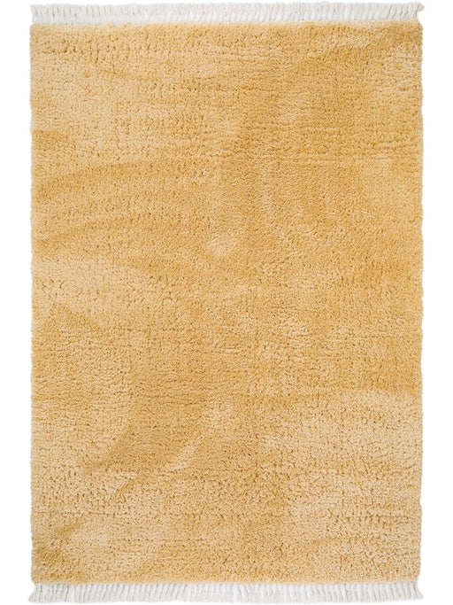Ava Shaggy Essentials Rug Yellow