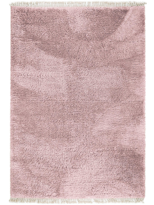 Ava Shaggy Essentials Rug Rose