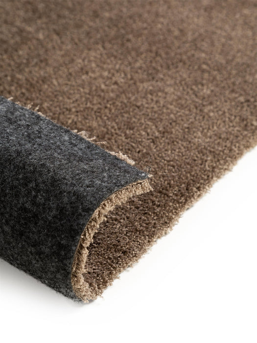 Lahty Washable Shaggy Modern Rug Taupe