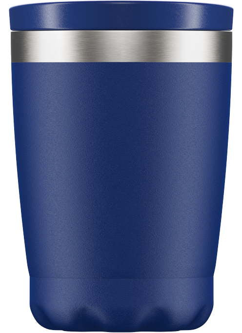Chillys Coffee Cup 340ml Matte Blue