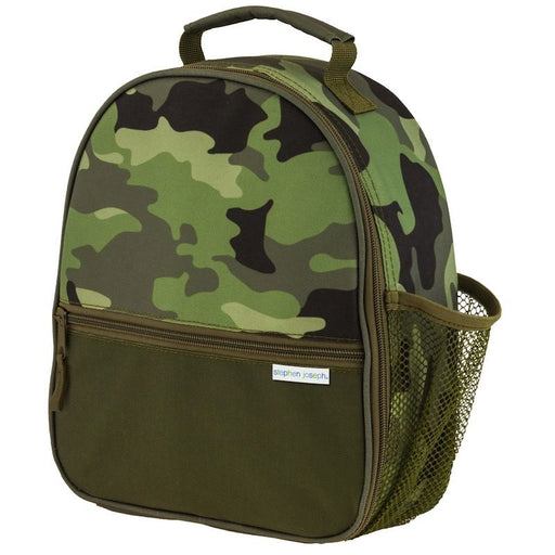 Stephen Joseph Ισοθερμικό Τσαντάκι Φαγητού All Over Print Backpack Camo