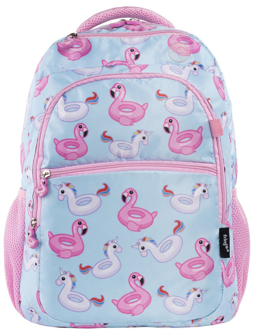 Fringoo Junior Backpack Flamingo/Unicorn
