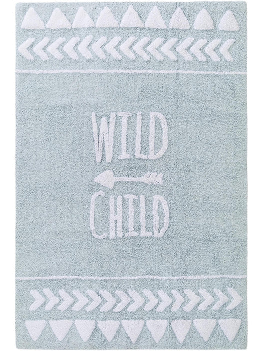 Inka Wild Child Kids Rug Light Blue